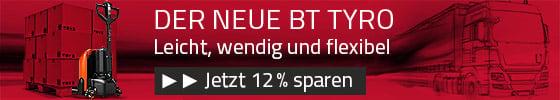 Anzeige BT Tyro Rabatt